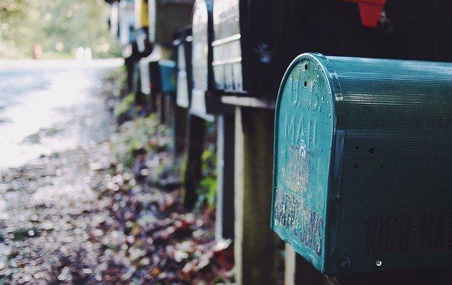 poštovní schránka komunikace